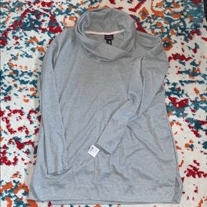 NWT maternity cowl neck long sleeve shirt